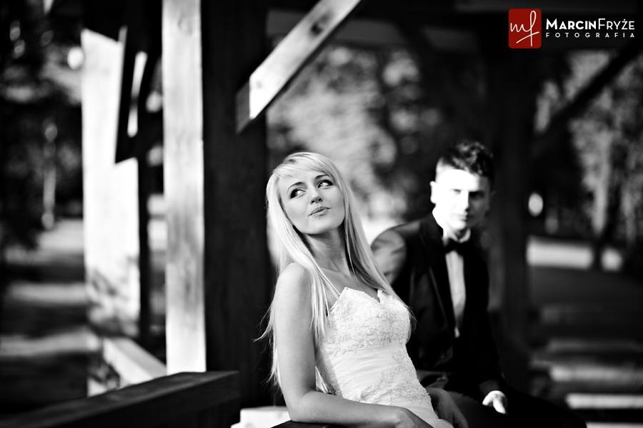 fotografia slubna    Aneta & Marcin   Ślubna sesja plenerowa   Wieliczka