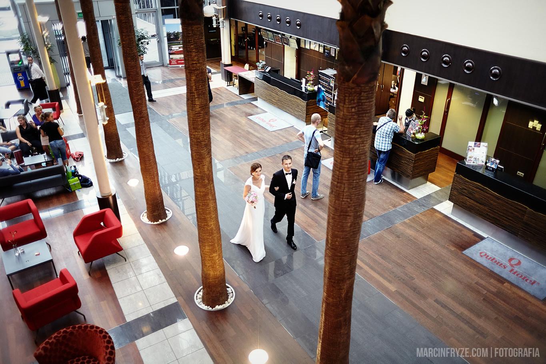 Qubus Hotel Kraków Wesele Fotografia ślubna Kraków Marcin Fryże