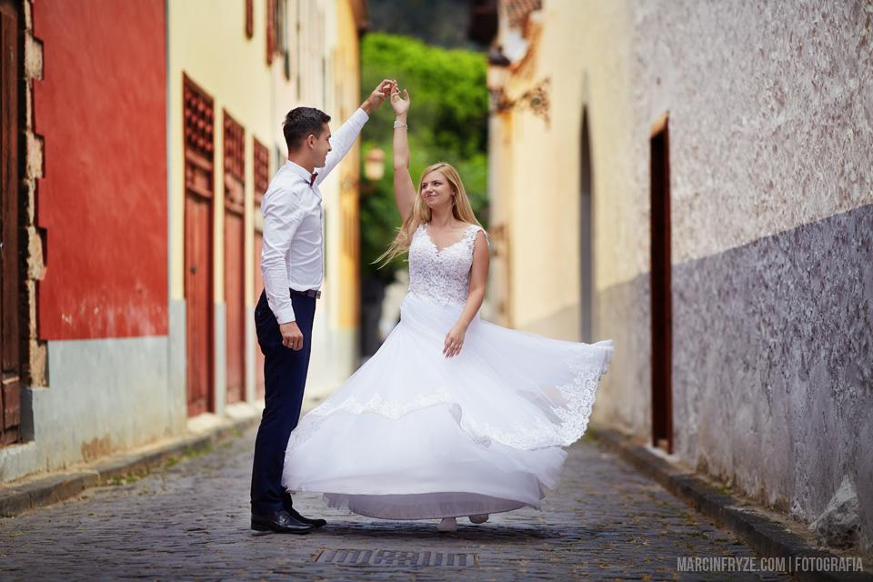 Sesja ślubna na Teneryfie | Fotograf ślubny Teneryfa