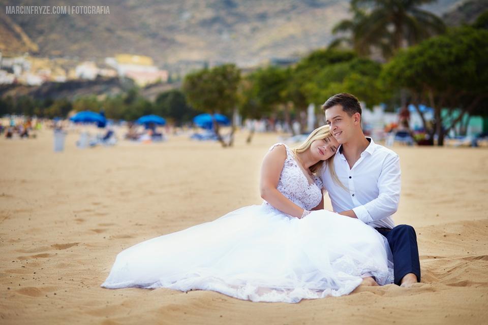 Sesja ślubna na Teneryfie | Fotografia ślubna Teneryfa