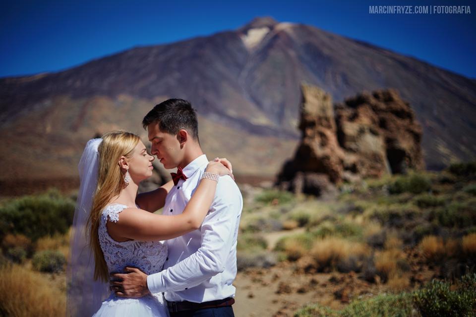 Sesja ślubna na Teneryfie | Plener ślubny Teneryfa