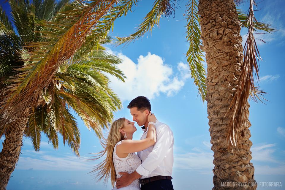 Sesja ślubna na Teneryfie | Podróż poślubna Wyspy Kanaryjskie