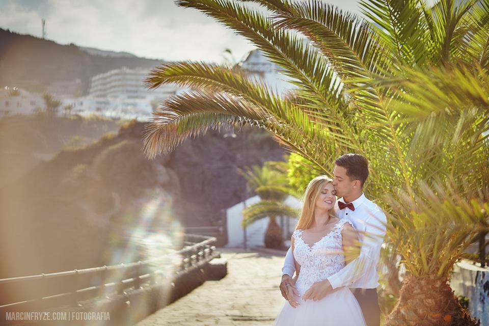 Sesja ślubna na Teneryfie | Teneryfa podróż poślubna