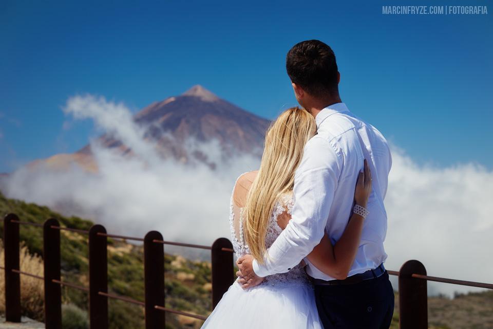 Sesja ślubna na Teneryfie | Teneryfa sesja ślubna