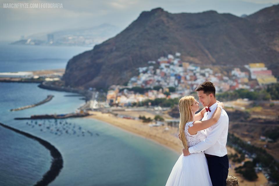 Sesja ślubna na Teneryfie | Wyspy Kanaryjskie podróż poślubna