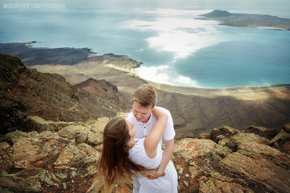 Plener ślubny Lanzarote | Sesja ślubna na Lanzarote